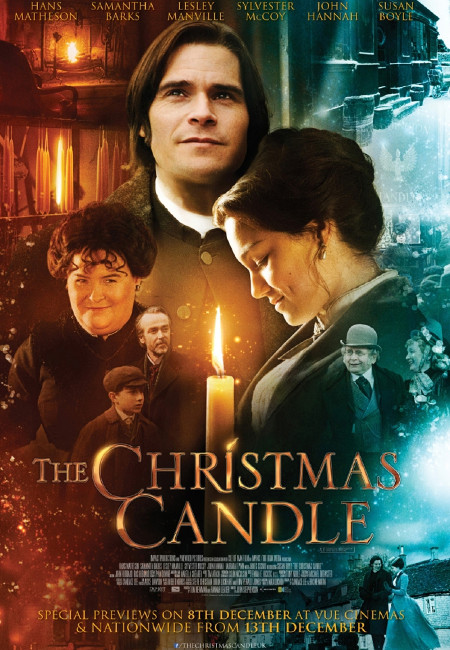 The Christmas Candle poster.